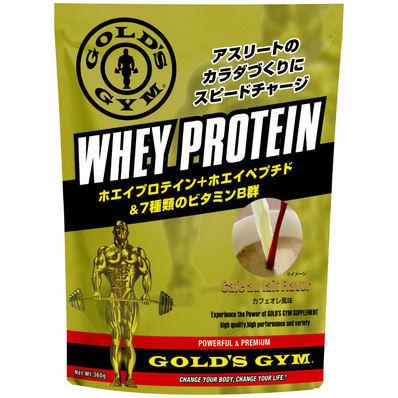 GOLD'S GYM(ゴールドジム) ホエイプロテイン+ホエイペプチド&ビタミン カフェオレ風味