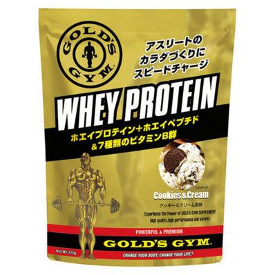 GOLD'S GYM ホエイプロテイン+ホエイペプチド&ビタミン クッキー&クリーム風味