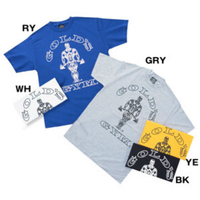GOLD'S GYM   G6115 ベーシックジョーTシャツ