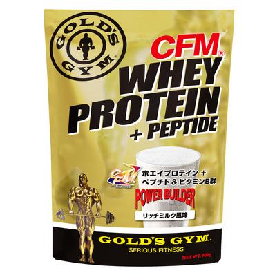 GOLD'S GYM(ゴールドジム) CFMホエイプロテイン+ホエイペプチド&ビタミンB群