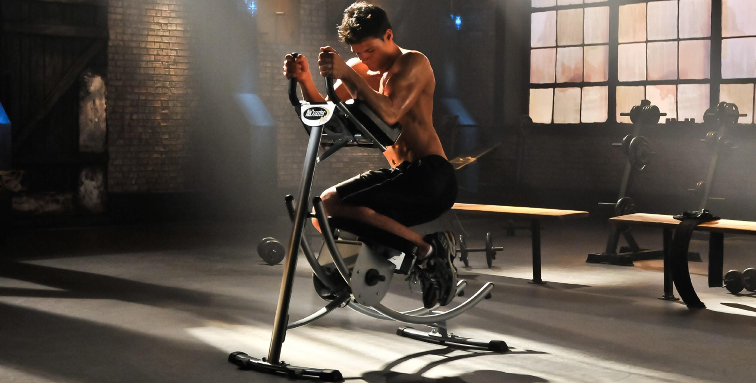 腹筋トレーニングマシン アブコースター(abcoaster)